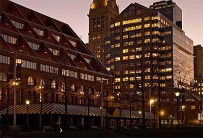 The Boston Mariott hotel