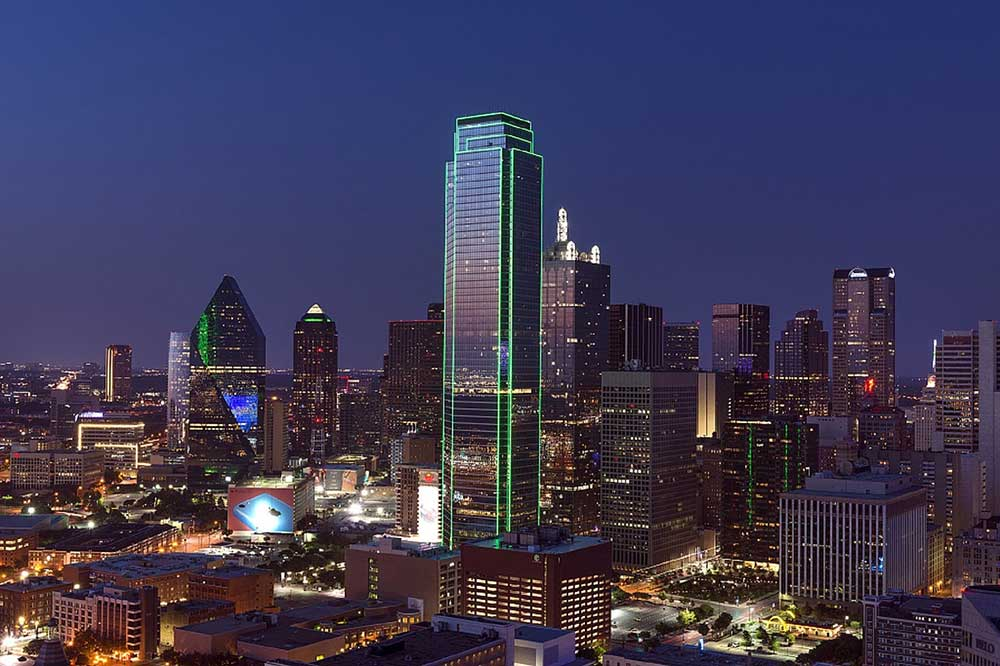 Dallas by night
