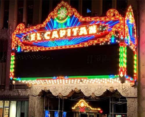 Hollywood El Capitan Theater