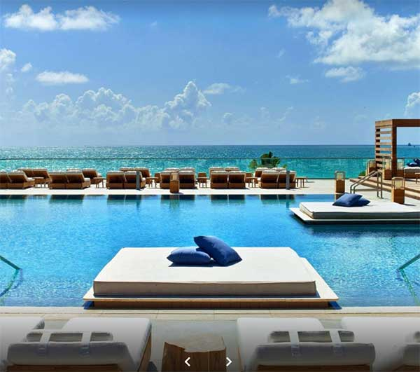 The 1 Hotel South Beach Miami