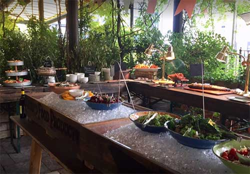 Gallow Green Rooftop restaurant and bar