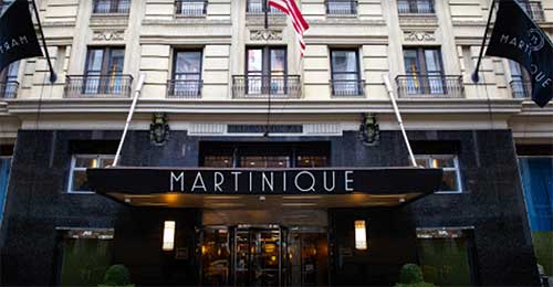 NYC Martinique Hotel on Broadway