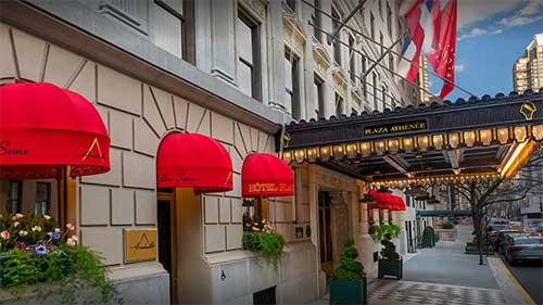 NYC Plaza Athenee Hotel