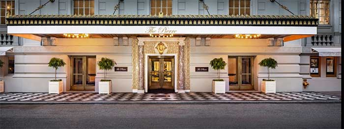 The Pierre Hotel NYC