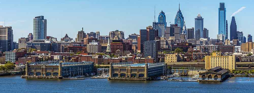 Philadelphia panoramic view
