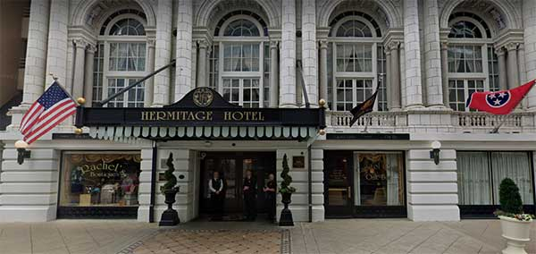 The Hermitage Hotel Memphis