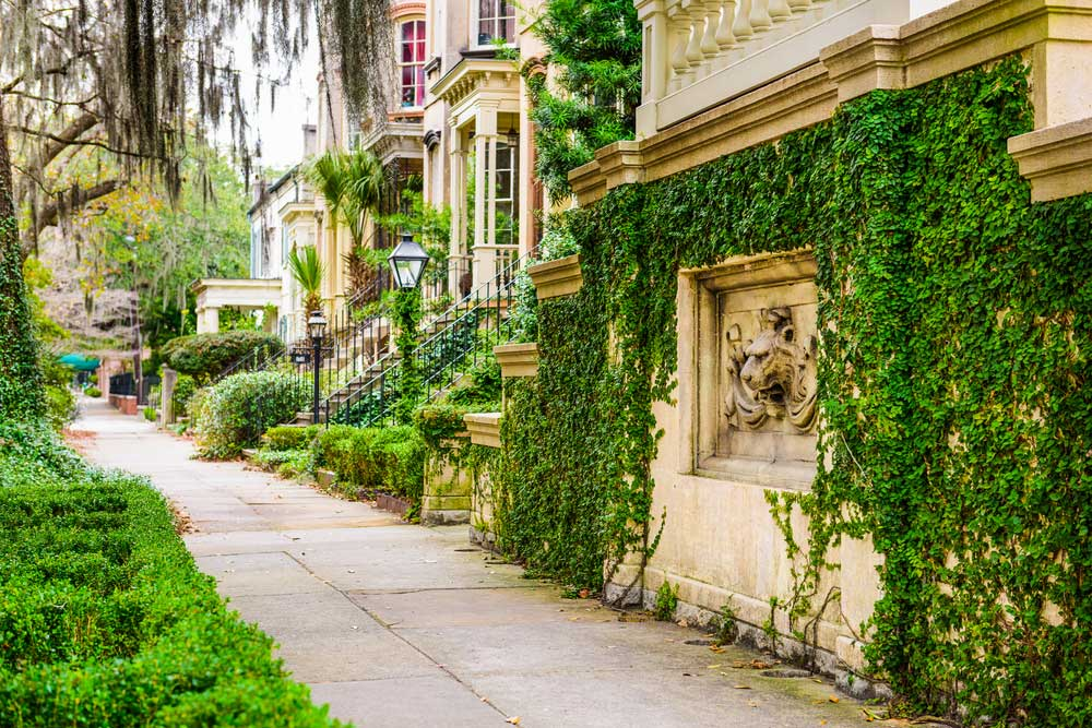 Historic District Savannah Georgia
