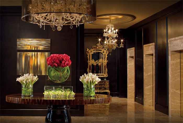 If you want to impress, the Ritz Carlton is your Hotel