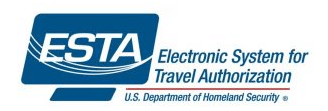 ESTA stands for Electronic System for Travel Authorisation by the USA Governments Visa Waiver Program