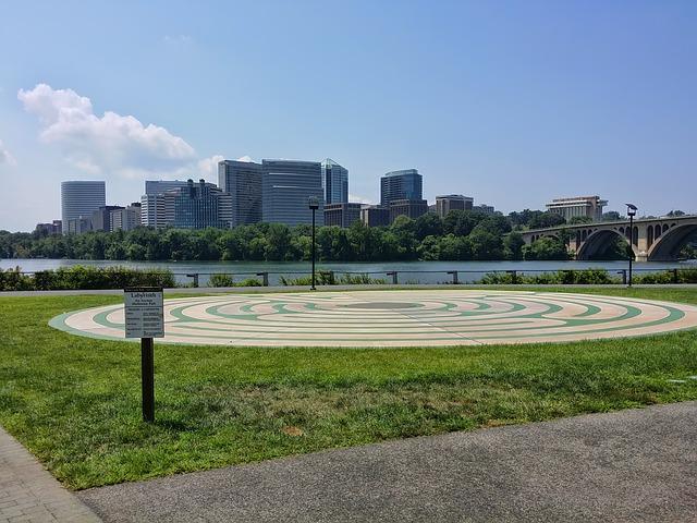 Potomac Park in Washington DC