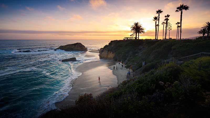 Beaches near Anaheim