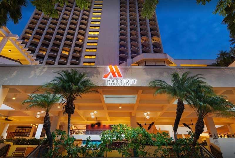 Mariott Hotel Waikiki Beach