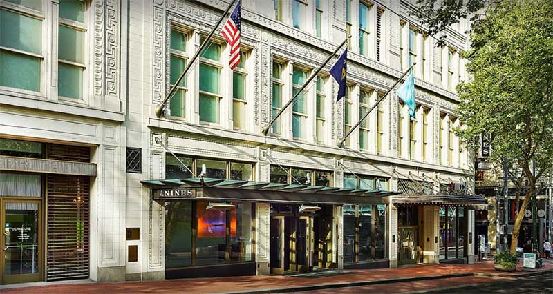 The 9nth top hotel in Portland Oregon