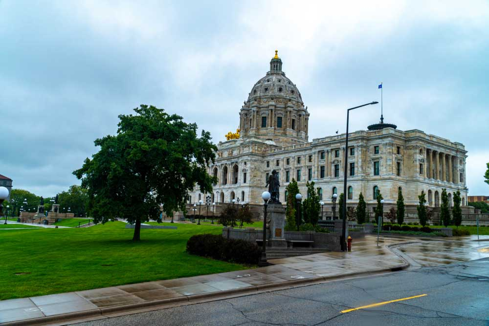 Minnesota State Capitol Building St Paul
